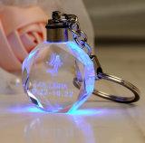Anello portachiavi alla moda squisito Keychain di cristallo Octagonal
