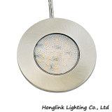 Cer-rundes Aluminium 1.5W 12V LED unter Schrank-Licht
