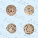 高品質の真鍮の物質的なジーンズボタン