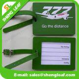 漫画PVC旅行記念品(SL-LT005)のためのゴム製荷物の札