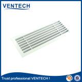 Grade de ar linear da cor branca para o uso da ventilação