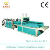 Calor - saco de roupa plástico da selagem e da estaca que faz a máquina