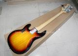 Guitare basse électrique Sunburst de tabac musique/5-String de Hanhai