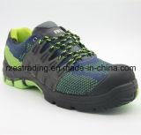 Zapatos de seguridad materiales de goma de la luz del estilo del deporte de Outsole