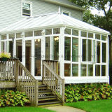 Sunroom dobro Shaped do jardim do vidro Tempered do Irregular de alumínio (FT-S)