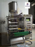 Multi linhas pasta/máquina embalagem do líquido/molho