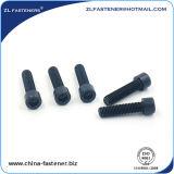 Schwarze Kontaktbuchse-Schutzkappen-Schraube des Oxid-DIN912