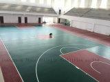 De Binnen Synthetische Bevloering van het Hof van het Basketbal EPDM (JRACE)
