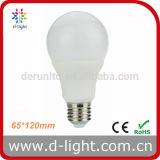 Diodo emissor de luz Bulb de RoHS Plastic Aluminum 270 Degree Epistar SMD2835 CI 12W do CE de A65 E27 B22 Standard