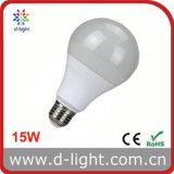 Bulbo plástico padrão do diodo emissor de luz do grau CI 15W do alumínio A80 SMD2835 270 de Ra>80 PF>0.5 E27