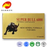 Comprimidos ervais do sexo das cápsulas super do sexo de Bull 6000