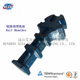 Railway Fastening를 위한 Qt450-10 Sand Casting Shoulder