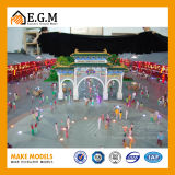 ABS Model het van uitstekende kwaliteit van de Eenheid/Model die van de Bouw van de Schaal van de Flat het Model/Architecturale het Model van de Factor/van de Bouw maken
