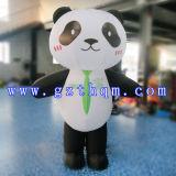Modèle de bande dessinée gonflable Panda / Publicité Modèle de bande dessinée gonflable / Cartoon à pied