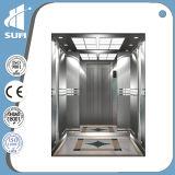 중국 제조자 속도 1.5m/S Hairilne 스테인리스 주거 엘리베이터