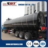 3 차축 Heated Asphalt 또는 Pitch/Bitumen Semi Trailer