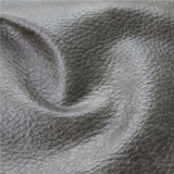 Couro sintético gravado do PVC da qualidade superior para o Upholstery da mobília do sofá
