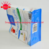 La cremallera cuadrada de empaquetado 100% de la parte inferior plana del bloque del convite de la categoría alimenticia se levanta la bolsa