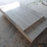 Panneaux de mur extérieurs solides acryliques veinés de douche de couleur (KKR-S1910)