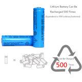 Tr 18650 4000 LEDの懐中電燈のためのmAh 3.7Vの充電電池18650のリチウム李イオン電池