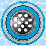 La piscina del LED 238mm de acero inoxidable (LP09-S238)