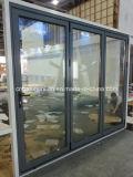 Serie plegable de la puerta Jn60 de la Puerta-Galuminium del aluminio