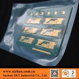 Saco de plástico do quarto desinfetado para componentes eletrônicos da embalagem