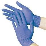 Хирургический тип поставщика & напудренные перчатки нитрила цвета медицинских материалов пурпуровые
