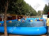 中国Factory Wholesale Inflatable Pool、Paddle Boat D2027のためのWater Pool