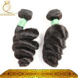 As extensões brasileiras Queenlike do cabelo afrouxam a qualidade superior da onda (FDXI-BL-009)