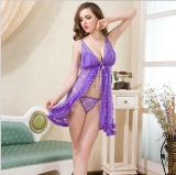 Reizvolles Mesh Lace Sexy Lingerie Baby - Puppe Open auf The Front