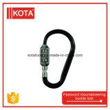 Lucchetto della serratura di combinazione dei bagagli della serratura dell'inarcamento di alpinismo di parola d'accesso