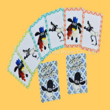 Китайские карточки играя карточки полного цвета напечатанные воспитательные