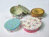 Heiße Verkaufs-Papier-Schmucksache-runder Kasten mit Qualität für viele konzipiert