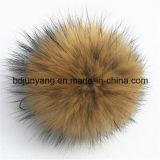 Het grote Bont Pompom Keychain van de Wasbeer van de Manier