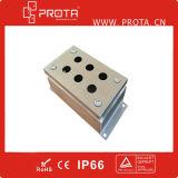 Impermeabilizar el pequeño rectángulo de ensambladura del acero inoxidable 304 316