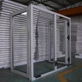 Guichet en aluminium de tissu pour rideaux avec le traitement de rouleau, guichet K03061 de tissu pour rideaux