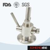 Válvula asséptica manual da amostra do produto comestível de aço inoxidável (JN-SPV2004)