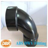 1.5 tipo encaixe da curvatura do tamanho 1/4 da polegada de Dwv do ABS