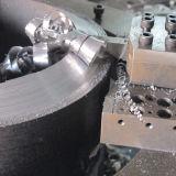 Corte frío del tubo partido del marco y máquina que bisela