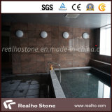 Couper à Size Black Galaxy Stone Granite Tile pour Wall