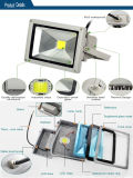 Interior de Proyector LED/Exteriores 10W 20W 30W 50W