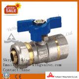 La compresión de latón válvula de bola de montaje (YD-1044)
