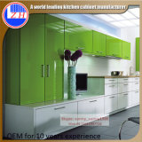 (customzied) Pack 편평한 Laminate Lacqure Mini MDF Kitchen Cabinets