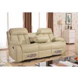 Función reclinable de cuero del sofá (G777 #)