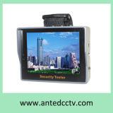 """3.5 """"手首Poeの携帯用CCTVのカメラのテスターのモニタ、アナログのカメラのテスター、機密保護のテスター"""