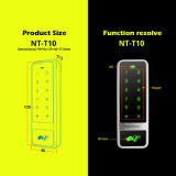 Metal Fashion Type Touch Access Controller para um Single Entrance Door
