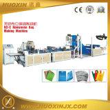 Saco não tecido que faz a máquina com impressão de cor 2