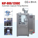 Máquina de enchimento dura química inteiramente automática da cápsula de Njp-800c