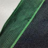 ткань джинсовой ткани Selvedge хлопка зеленого цвета 18.5oz материальная на джинсыы 8983